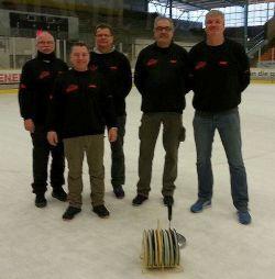 Eisstockschützen des TV 1905 Mainzlar auch 2016 in der Bundesliga