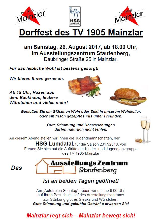 Dorffest des TV 1905 Mainzlar