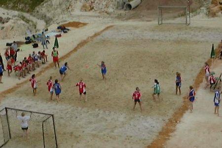 2. Beach-Handball-Turnier des TV Mainzlar
