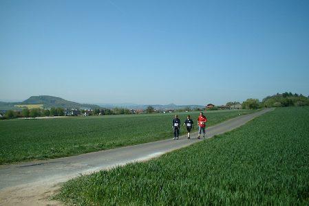 1. Nordic Walking Wandertag 2007