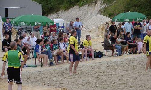 1. Beach-Handball-Turnier des TV Mainzlar