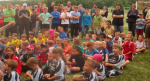 Erstes Turnier der Mainzlarer Handball Minis als HSG Lumdatal