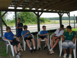 Ferienspiele zu Gast bei der Tennisabteilung des TV 1905 Mainzlar