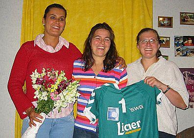Marion Chilla spielt für den TV Mainzlar
