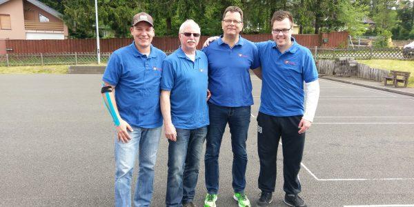 Eisstockschützen holen 2. Platz bei der Hessischen Meisterschaft