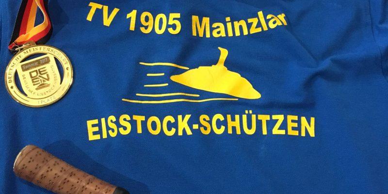 Mainzlarer Jugend Eisstock bei Deutscher Meisterschaft vertreten