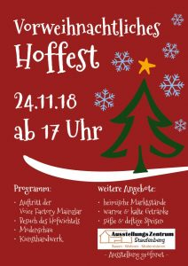 Vorweihnachtliches Hoffest