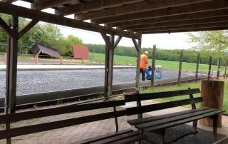 Eisstockbahnen Sanierung 2019