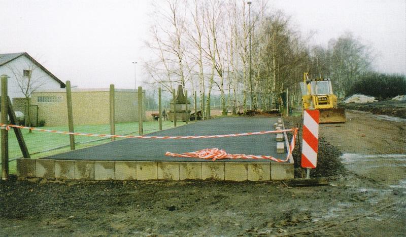 Fertigstellung der 2. Eisstockbahn beim TV Mainzlar