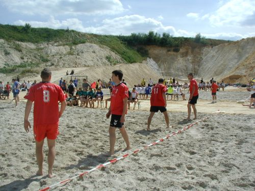 3. Beach-Handball-Turnier des TV Mainzlar