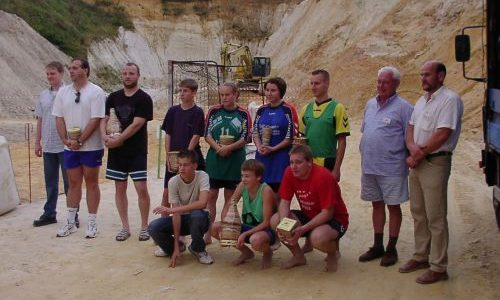 1. Beach-Handball-Turnier des TV Mainzlar