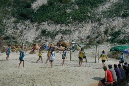 2. Beach-Handball-Turnier des TV Mainzlar