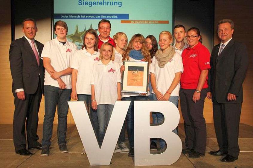 Volksbank Mittelhessen verleiht Sterne des Sports