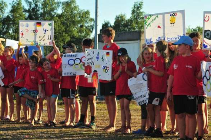 Fast 100 Kinder und Jugendliche waren am Jugendcamp aktiv