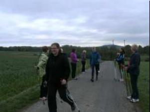 Nordic Walking jetzt auch am Vormittag beim TV 05 Mainzlar