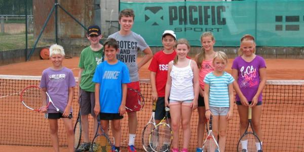 Ferienspiele wieder zu Gast bei der Tennisabteilung des TV 1905 Mainzlar
